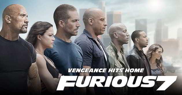 Divulgado o poster oficial e fotos do filme Velocidade Furiosa 7