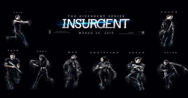 Confira os oitos pósteres individuais de personagens do filme Insurgente