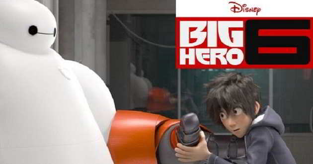 'Big Hero 6' dominou fim de semana nos EUA e superou 'Interstellar'
