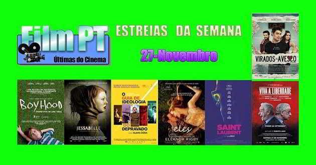 Estreia de Filmes da Semana: 27 de novembro de 2014