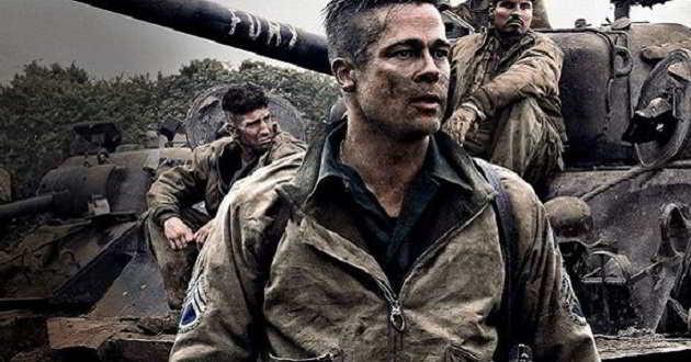 'Fúria' voltou a ser o filme mais visto da semana em Portugal