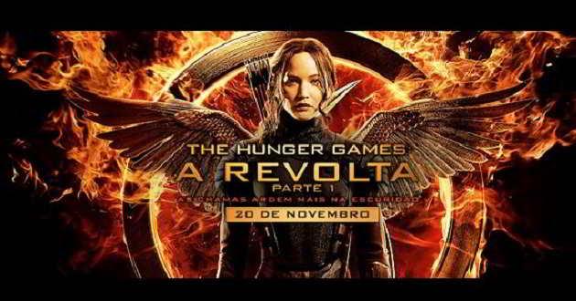 'The Hunger Games: A Revolta – Parte 1' foi o filme mais visto da semana