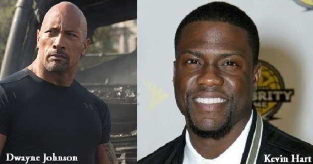 Dwayne Johnson e Kevin Hart no elenco de 'Central Intelligence'