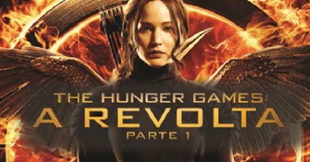 Cartaz artístico de 'The Hunger Games: A Revolta - Parte 1'