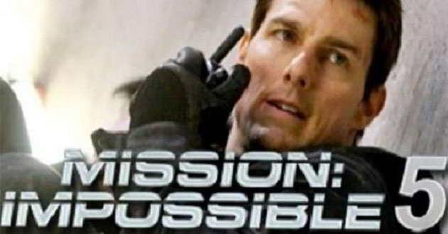 Missão Impossível 5 - Tom Cruise em imagens arrojadas num avião