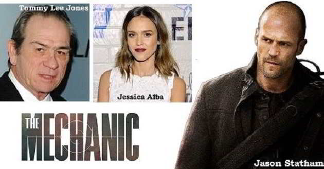 The Mechanic 2: Jessica Alba e Tommy Lee Jones podem integrar o elenco