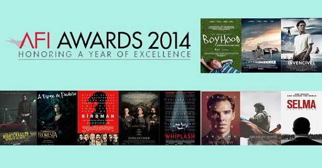 Lista dos 11 filmes distinguidos pela AFI (American Film Institute)