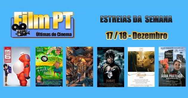 Estreias de Filmes da Semana: 17 e 18 de Dezembro de 2014