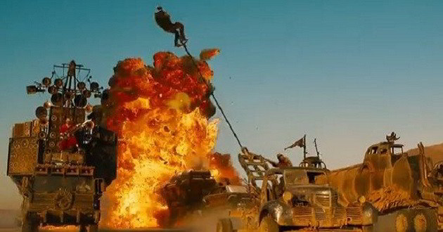 Novo trailer do quarto filme da franquia de George Miller 'Mad Max: Fury Road'