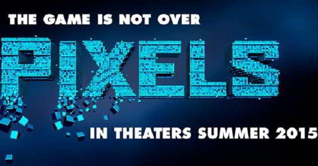 'Pixels': Divulgados os primeiros pósteres do filme da Sony
