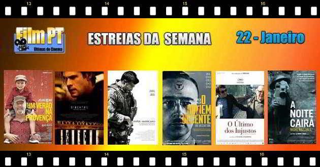 Estreias de filmes da semana: 22 de Janeiro de 2015