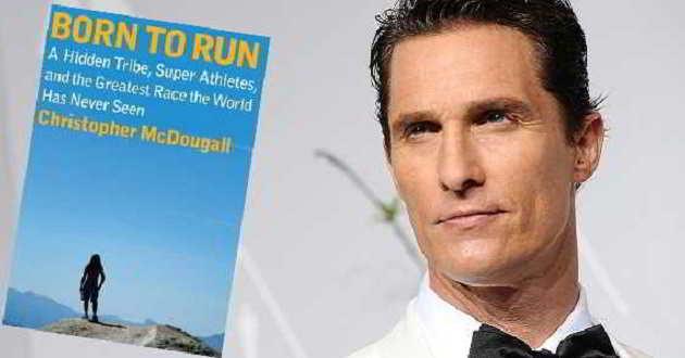 Matthew McConaughey vai encabeçar o elenco da adaptação 'Born to Run'