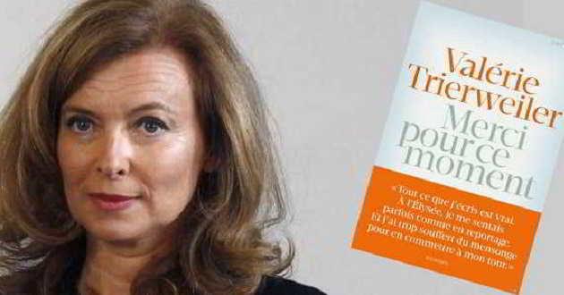 'Merci pour ce moment': Livro da ex-primeira-dama de França vai ser adaptado ao cinema