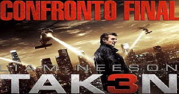 Box Office EUA: 'Taken 3' filme com Liam Neeson no primeiro lugar