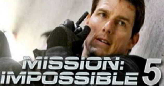 'Missão Impossível 5': Estreia foi antecipada para julho de 2015