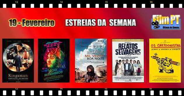 Estreias de Filmes em Portugal: 19 de Fevereiro de 2015
