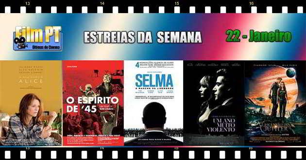 Estreia de Filmes da Semana: 5 de fevereiro de 2015
