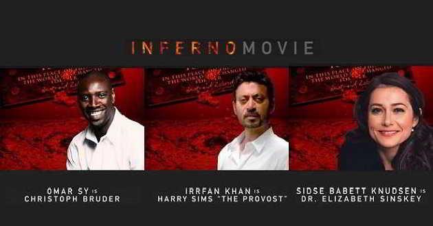 'Inferno': Divulgados mais nomes que vão integrar o elenco
