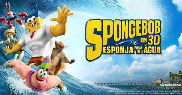 Box Office EUA: SpongeBob destrona Sniper Americano