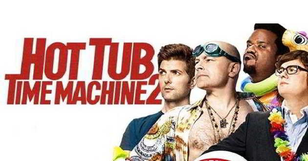 'Hot Tub Time Machine 2': Veja os três novos posters