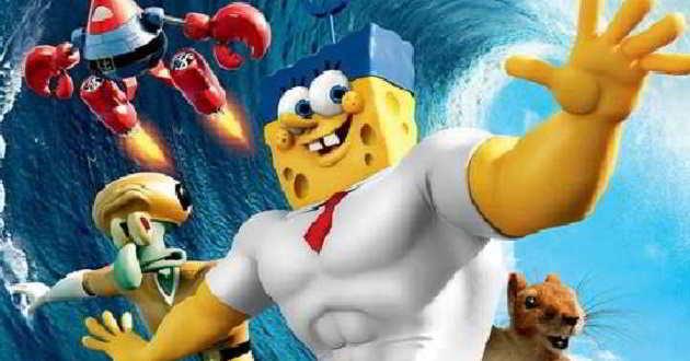 Novos posters de 'SpongeBob' fazem paródia a outros filmes