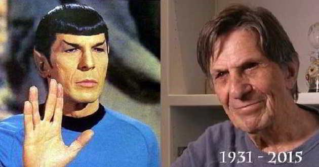 Morreu o ator Leonard Nimoy, o Spock de Star Trek