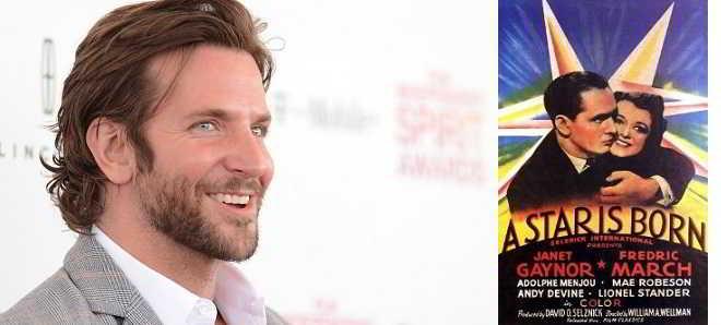 Bradley Cooper em negociações para realizar remake de 'A Star Is Born'