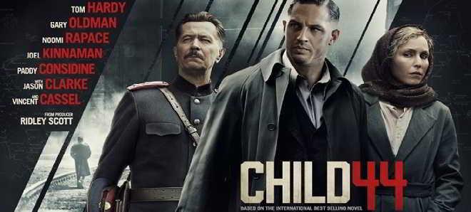 Veja os três novos poster dos personagens de 'Child 44'