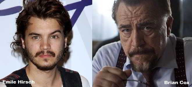 Emile Hirsch e Brian Cox juntos em 'The Autopsy Of Jane Doe'