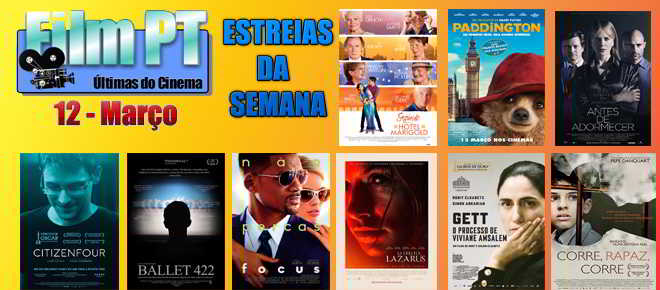 Estreias de filmes da semana: 12 de março de 2015