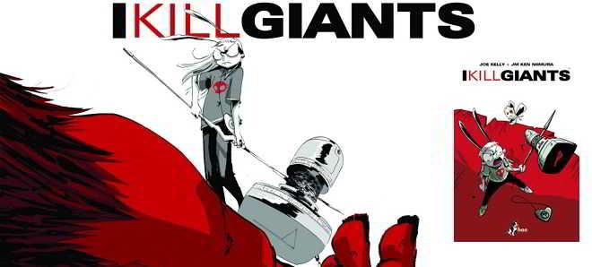 'I Kill Giants' vai ter uma adaptação cinematográfica
