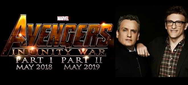 Irmãos Russo contratados para realizar 'Avengers: Infinity War'