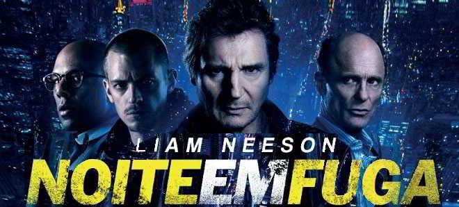 Dois novos spots televisivos de 'Noite em Fuga' com Liam Neeson