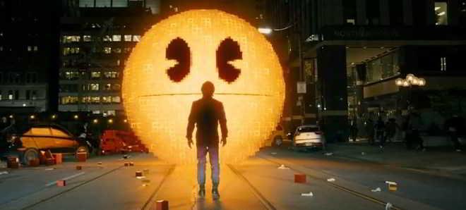 Veja Pac-Man no primeiro trailer de 'Pixels'