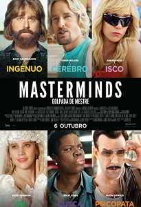 MASTERMINDS - GOLPADA DE MESTRE