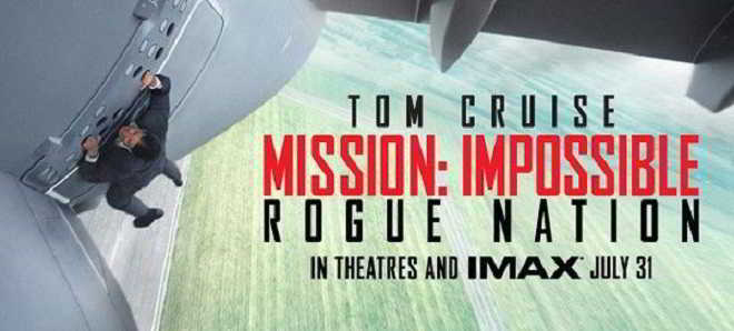 Primeiro teaser trailer e poster de 'Mission: Impossible - Rogue Nation'