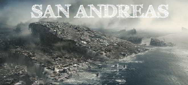 Novo poster do catastrófico filme 'San Andreas' com Dwayne Johnson