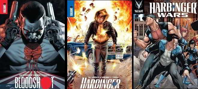 Valiant prepara universo cinematográfico com 'Bloodshot' e 'Harbinger'