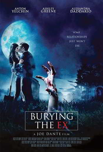 Buring the ex poster