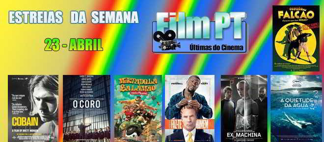 Estreias de Filmes da Semana: 23 de abril de 2015