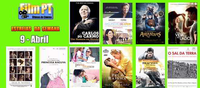 Estreias de Filmes da Semana: 9 de abril de 2015