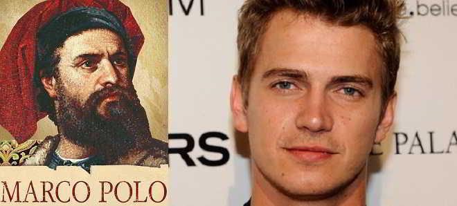 Ator Hayden Christensen vai interpretar ' Marco Polo'