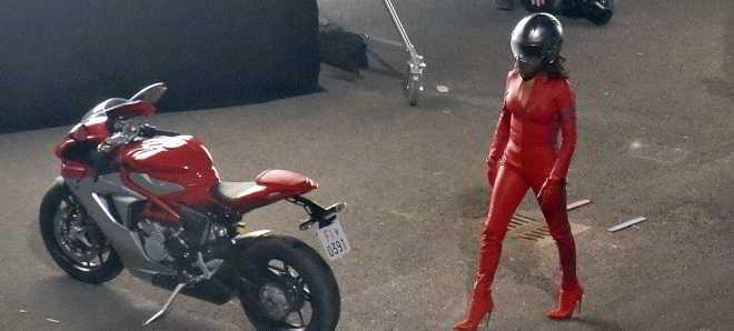 Veja imagens de Penélope Cruz nas filmagens de 'Zoolander 2'