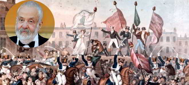 'Peterloo' é o título do novo filme do britânico Mike Leigh