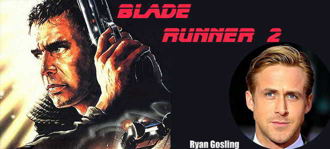 Ryan Gosling em negociações para protagonizar 'Blade Runner 2'