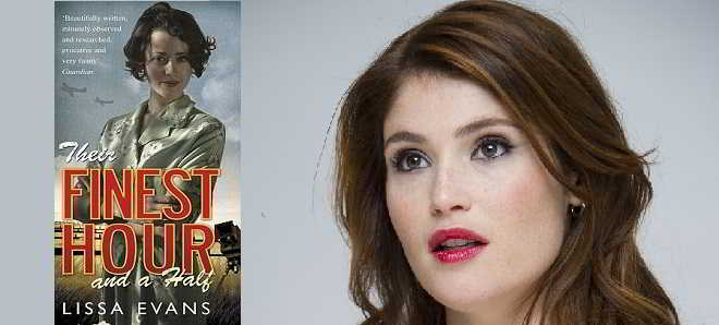 Gemma Arterton vai protagonizar a adaptação 'Their Finest Hour and a Half'