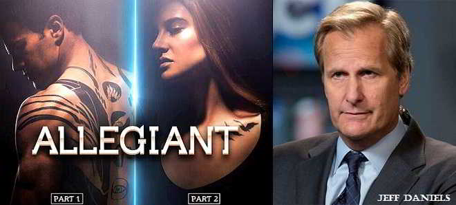 'A Série Divergente - Convergente': Jeff Daniels em negociações