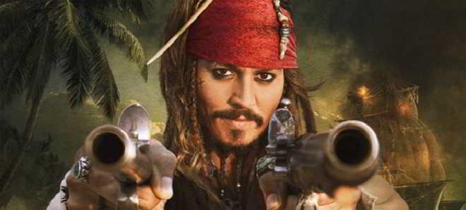 Johnny Depp na primeira imagem oficial de 'Piratas das Caraíbas 5'