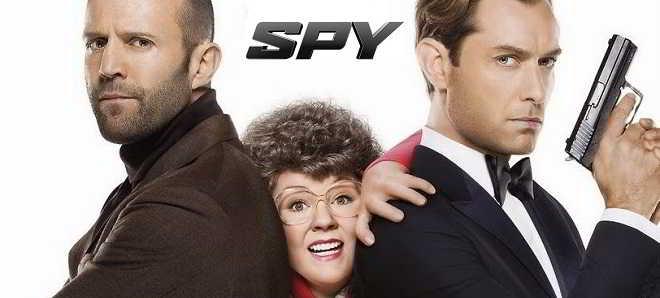 Novo trailer legendado em português e posters individuais de 'Spy'