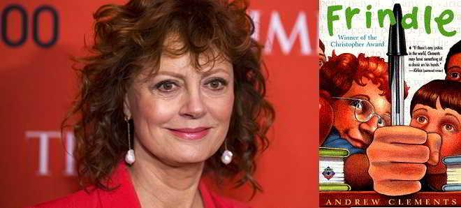 Susan Sarandon vai estrelar a adaptação ao cinema de 'Frindle'